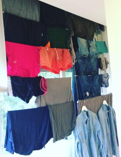 La ropa no coge humedad