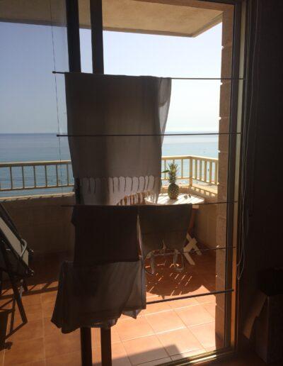 Tendedero de balcón playa