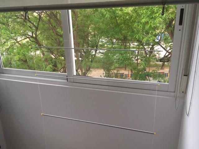 tendedero ventana